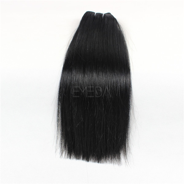Straight hair Virgin Peruvian hair  LJ70
