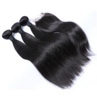 20 inch weft hair extensions bundles with closure YJ223