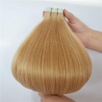 Virgin Cuticle Russian Human Hair Tape Hair Extension ZJ0007