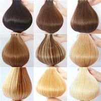 Virgin Cuticle Blond Russian Human Hair Tape Hair Extension ZJ0008