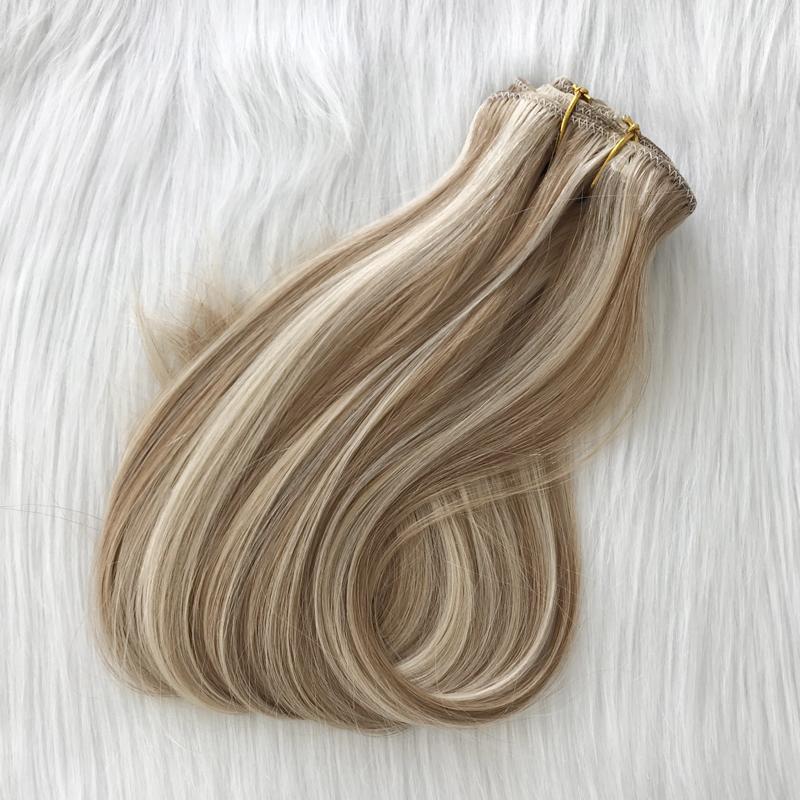 Popular Australia Market Balayage Piano Color Clip In Hair