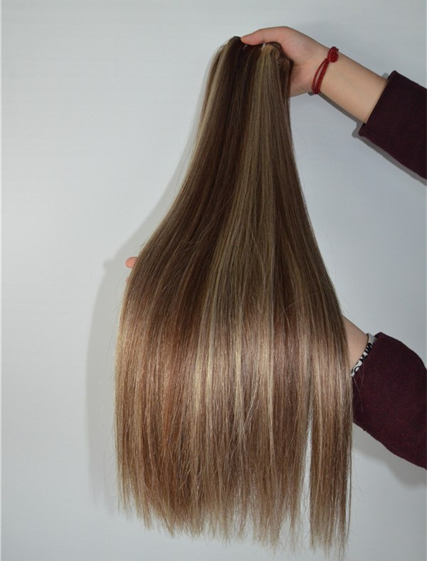 Brazilian straight piano hair extension XS030