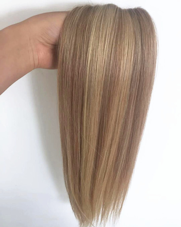 Piano hair weft double drawn hair with fashion colors two tone color YL287
