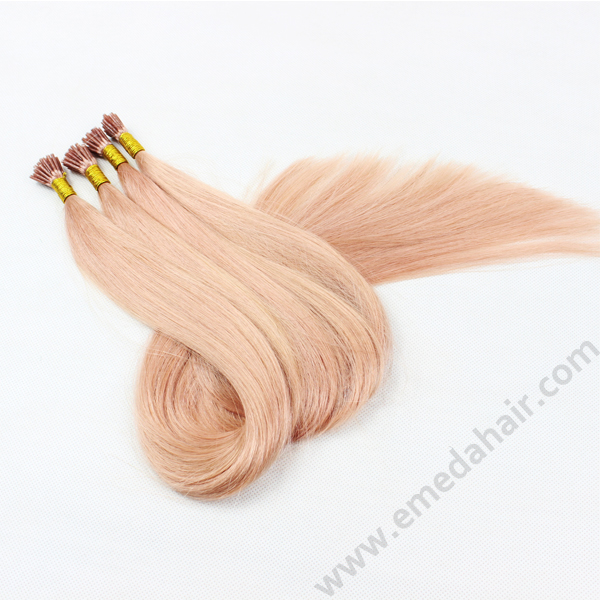 I tip extensions,pink i tip hair extensions,stick/i tip hair extension HN 356