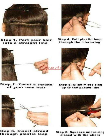 How to Remove Micro Loop Hair Extensions