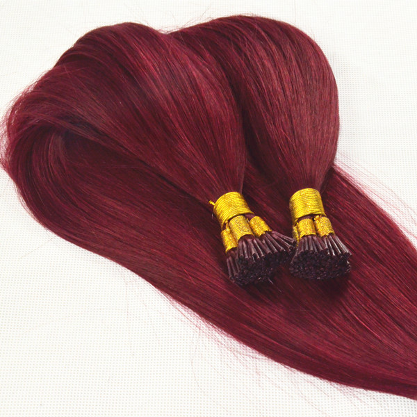 Peruvian prebonded silk straight hair with cuticle lp87