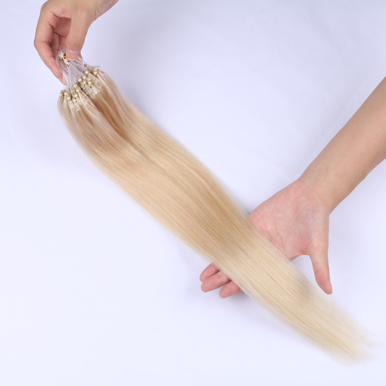 Micro ring loop cheap remy hair best cheap 100 human hair extensions SJ00283
