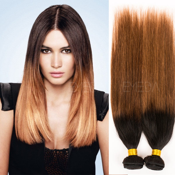 sew in human hair weave ombre hair extensions YJ30