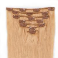 Clip in human hair extensions 70g no tangle hairs XS066