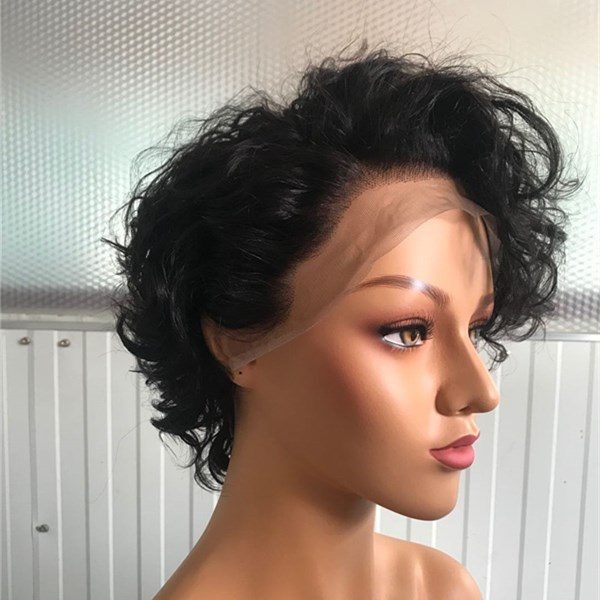 Pixie Cut Wig Short Hair Fashion Wig Lace Front Popular WK143