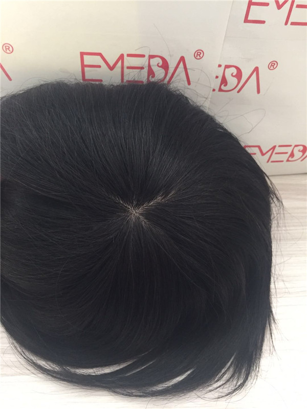 Silk Base closure toupee for men and women YL260