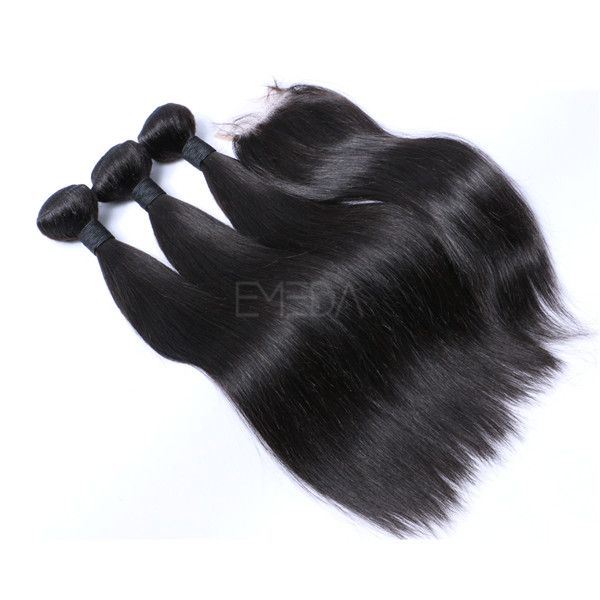 Straight Peruvian virgin hair  LJ230