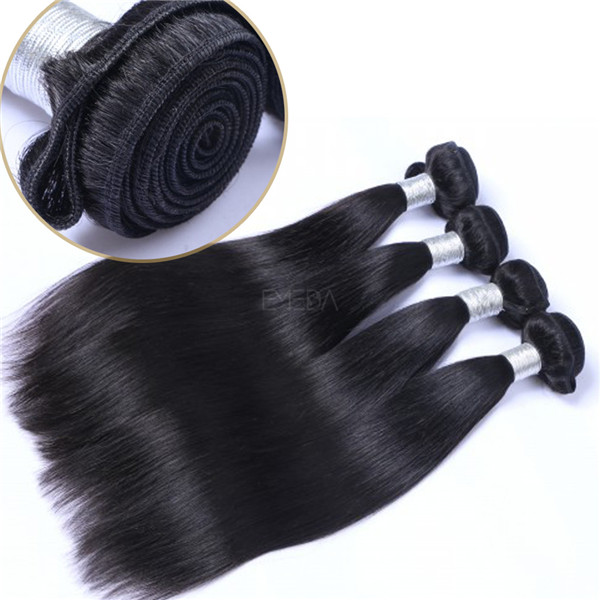 EMEDA peruvian 18 inch long lasting human hair remy weave hairstyles QM014