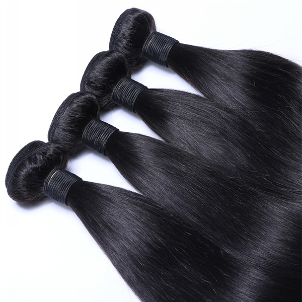 Straight Hair Weaves Cheap Virgin Brazilian Straight Hair Extensions WW026