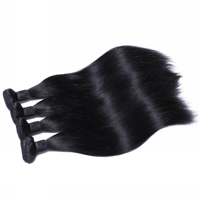 100% Human Hair Extension Hair Weft Bundle for Making Wig WK041