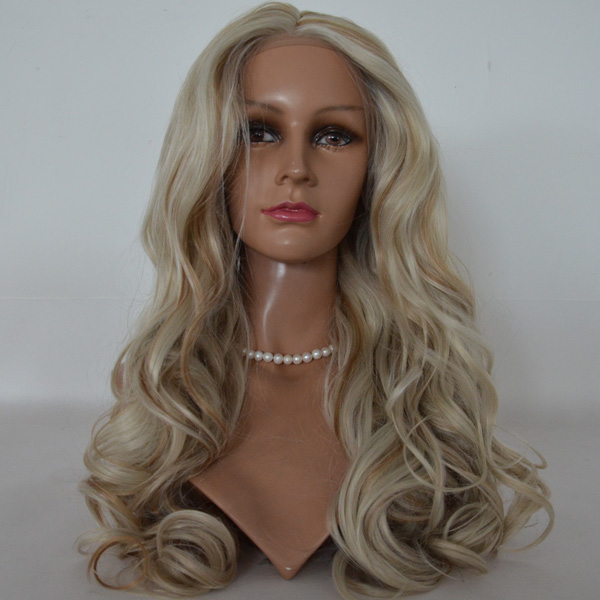 synthetic full lace wigs with baby hair JL1