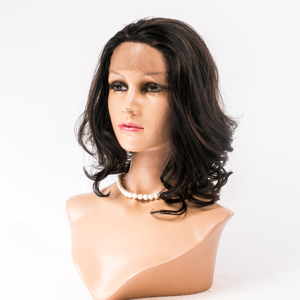 Factory price remy virgin brazilian hair natural color all hand tied human hair wigs HN152