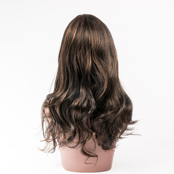 Cross - border wig, European and American fashion  hair wig  with body wave HN149