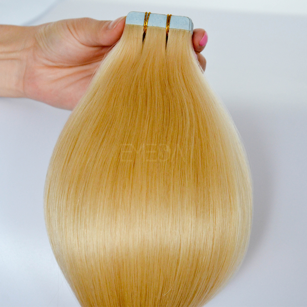 High quality remy tape 18 hair extensions CX086