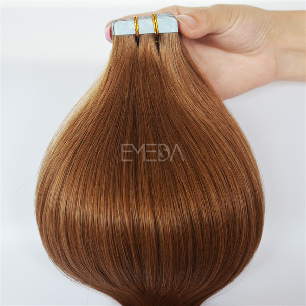 Hair Tape In Extensions Silky Straight Skin Weft Human Remy Hair YL333