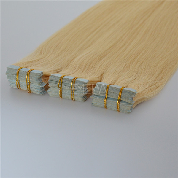 Best Selling Tape Human Hair Extensions Grade 7A Double Sided Tape Hair Extension JF025