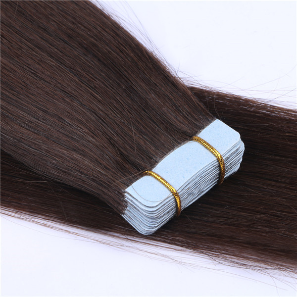 Best tape for hair extensions straight Brazilian hair XS074