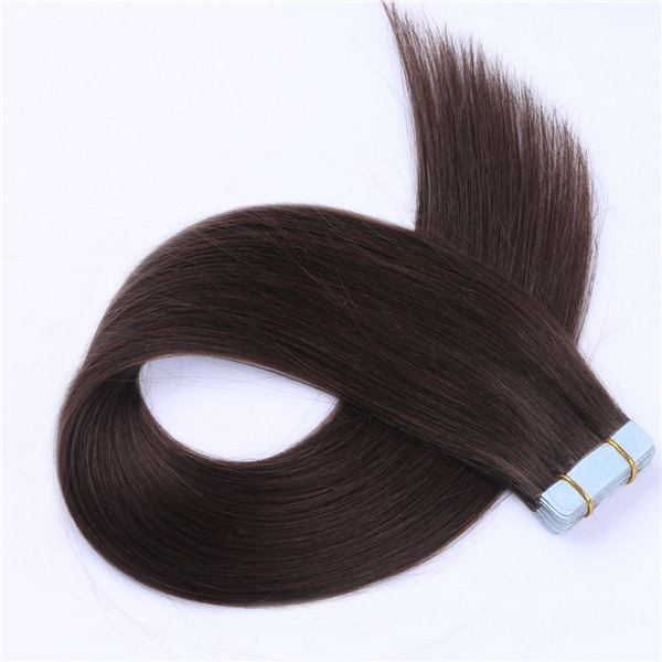 Tape in hair extensions reviews brazilian human hair XS096