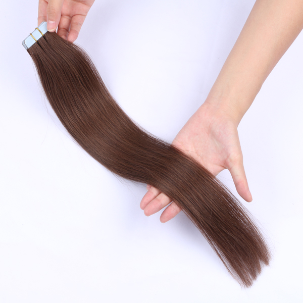 China Double Size Tape In Hair Manufactures Double Drawn Tape Suppliers Hair Extensions LM347