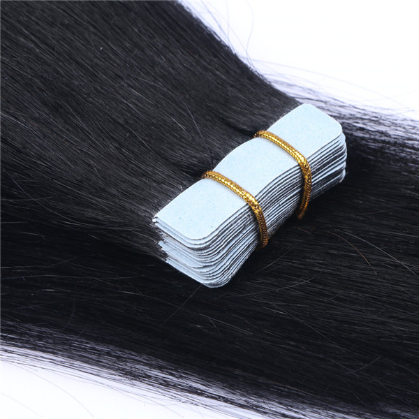 European Virgin Human Hair best tape hair extensions XS073