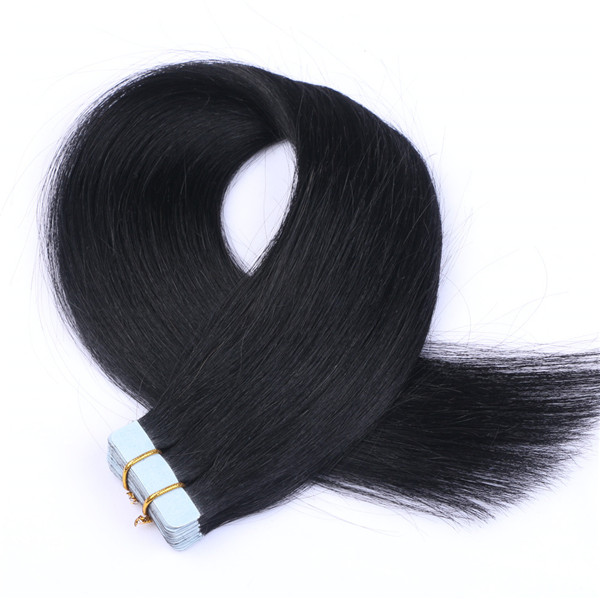 China Double Drawn Hair Extensions Suppliers Wholesale Hair Tape Double Sided Hair Extension LM350