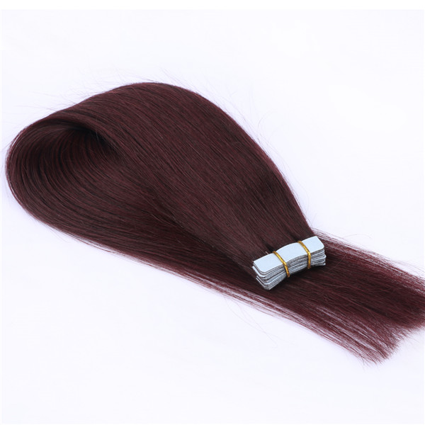 Double Tape Hair Extensions Thick Hair Factory Wholesale Remy Tape Hair Extension LM399