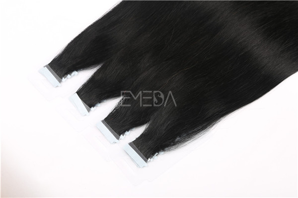 Thick Russian hair tape in hair extensions   ZJ0061
