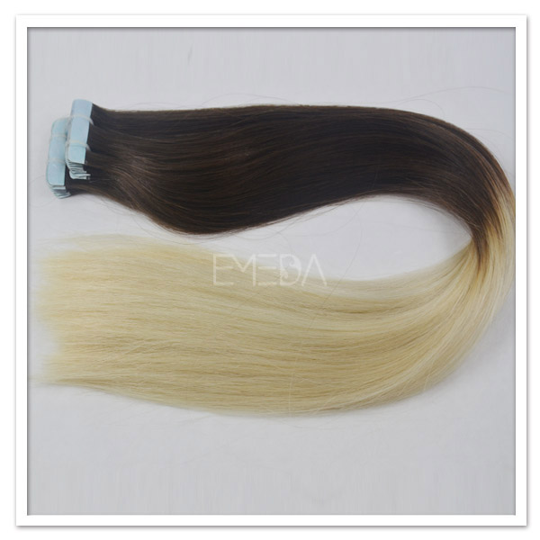 Thick tape hair extension