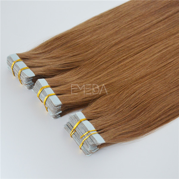 Grade 8A Peruvian pre taped hair extensions YJ105