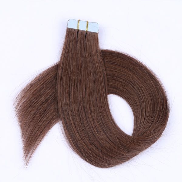 Wholesale Hair Tapes Human Remy Hair Extension Best Browm Hair Extension UK  LM449