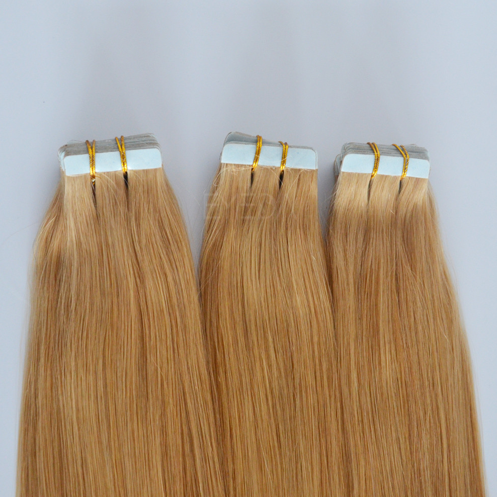 Fine colored tape in hair extensions uk YJ115