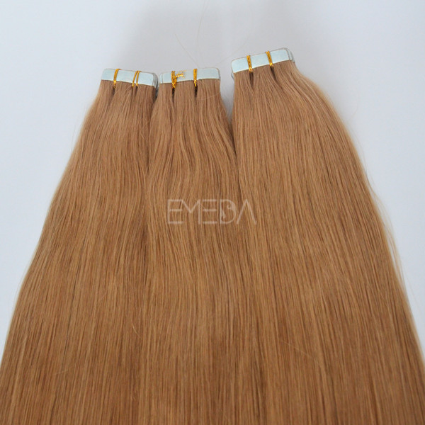 Raw unprocessed virgin remy tape in hair top grade lp105