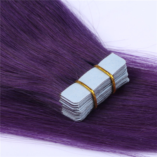 Invisible tape hair extensions for europe market XS105