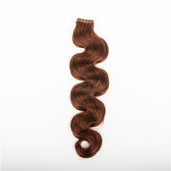 Brazilian remy hair extensions tape lp