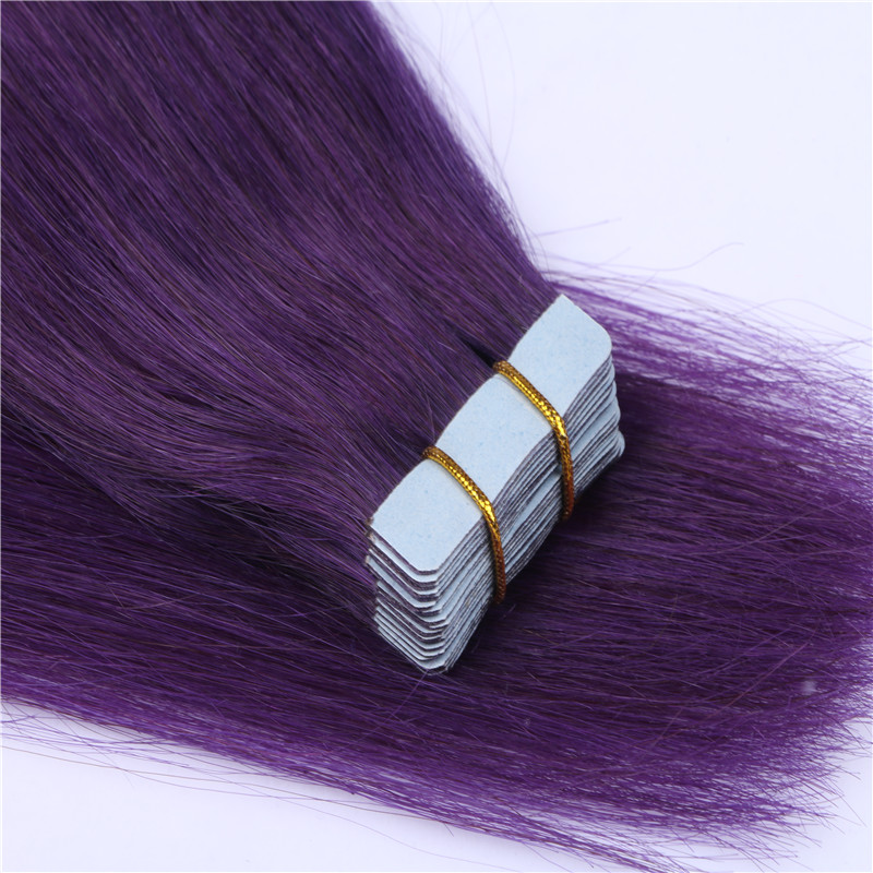 Tape In Hair Extensions Real Human 30 Color Available Straight Hair WK093