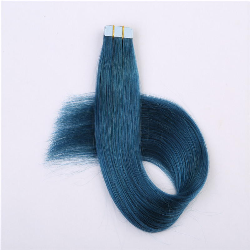 Professional remy human hair tape in hair extension WK067