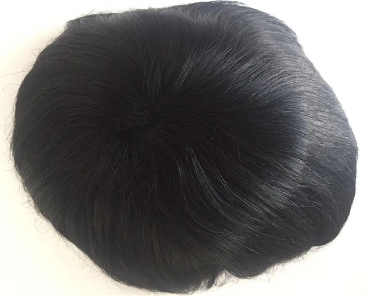 Thin skin toupees for men with holes hot sellers more brethable YL286