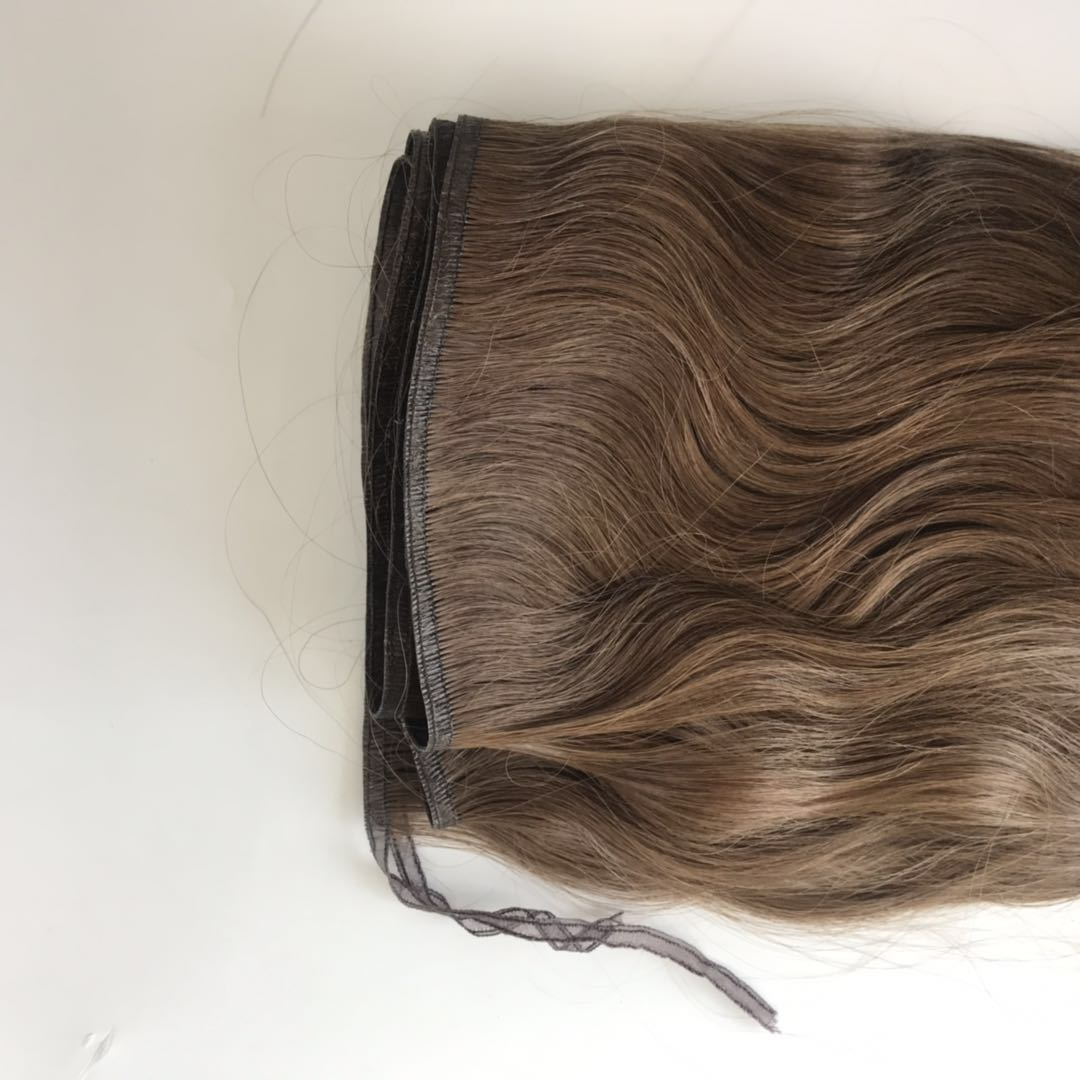 Seamless Hair extension with Thin Band Popular New Star in Europe WK141