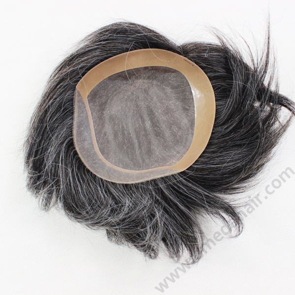 Best selling Skin 100% human hair toupee YL189