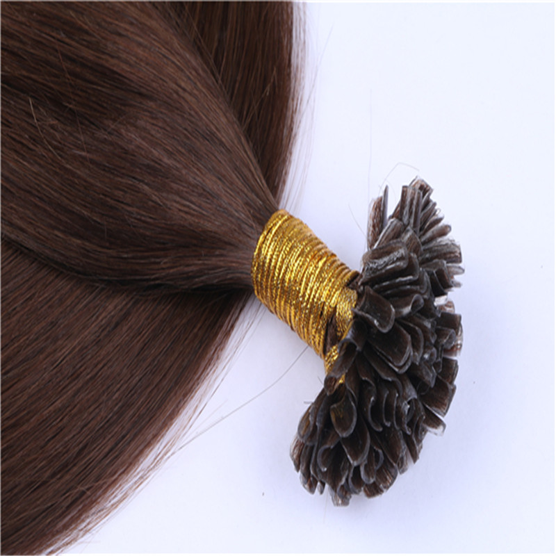 U tip Indian bonding hair extensions remy hair extensions WK158
