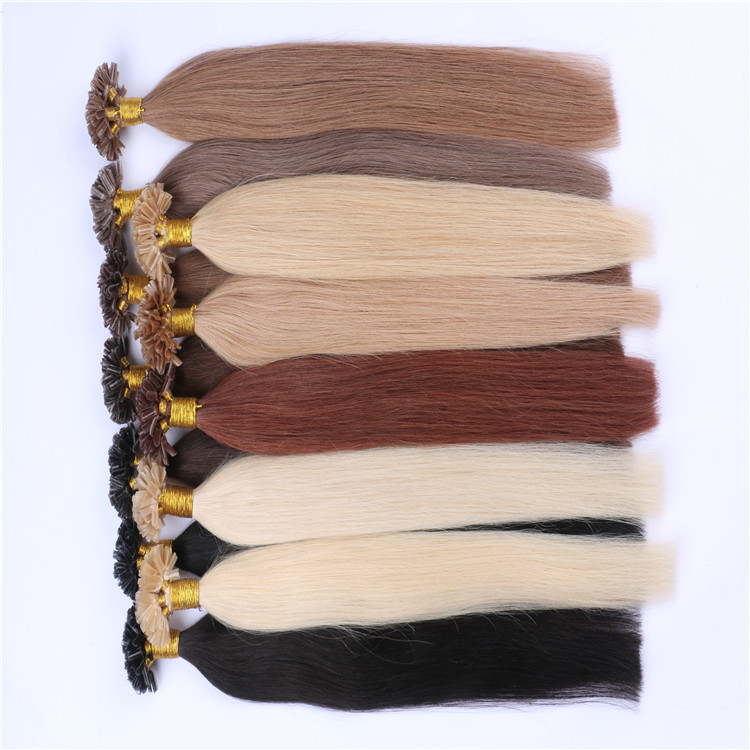 U Tip Pre-bonded Keratin Hair Extension Best Quality Hair WK031