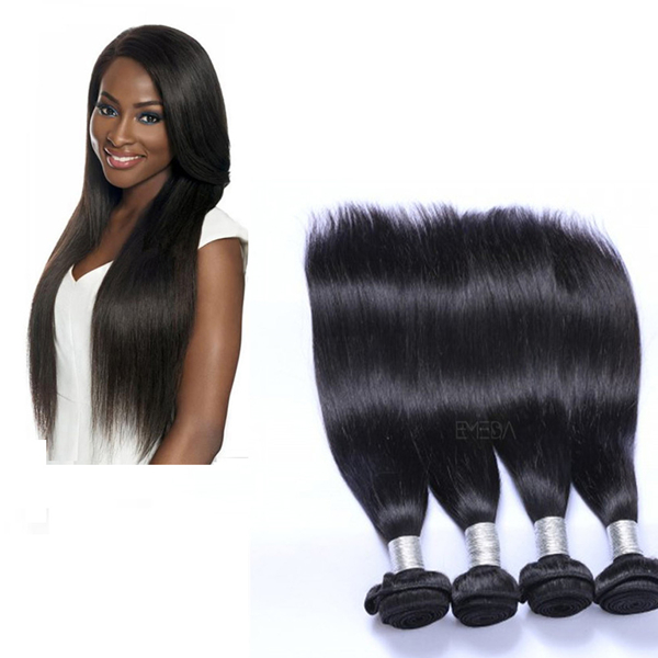 EMEDA wholesale virgin unprocessed malaysian straight hair weave bundles QM019