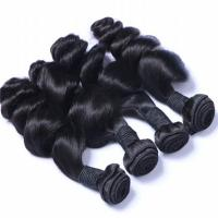 EMEDA malaysian loose curly hair weave bundles in stock QM012