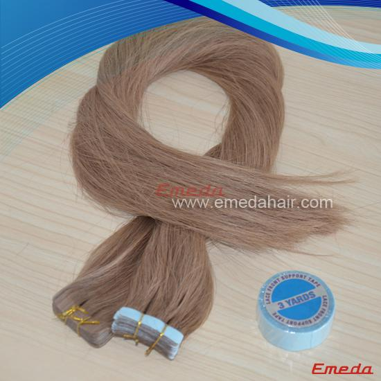 unprocessed tape hair extension