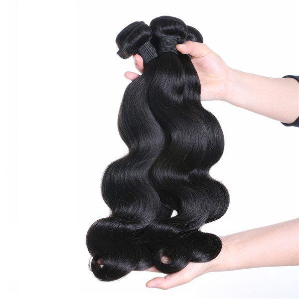 100% Human Peruvian Hair Extensions Honest Vendor Supply Emeda Factory Hair Weft  LM289